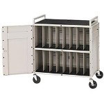 Bretford Antimicrobial Products Solutions Pre-Assembled Notebook Storage Cart LAPTG15ESA-CTMBT - Cart