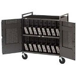 Bretford Antimicrobial Products Solutions Micro Computer Netbook Storage Cart NETBOOK32-ANMBT - Cart