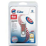 Centon DataStick MLB Swivel Chicago Cubs Edition - USB Flash Drive - 4 GB