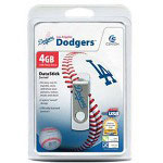 Centon DataStick MLB Swivel Los Angeles Dodgers Edition - USB Flash Drive - 4 GB
