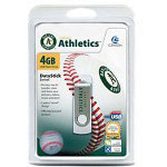 Centon DataStick MLB Swivel Oakland Athletics Edition - USB Flash Drive - 4 GB