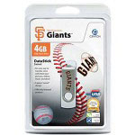 Centon DataStick MLB Swivel San Francisco Giants Edition - USB Flash Drive - 4 GB