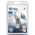 Centon DataStick MLB Swivel Tampa Bay Rays Edition - USB Flash Drive - 4 GB