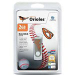Centon DataStick MLB Swivel Baltimore Orioles Edition - USB Flash Drive - 2 GB