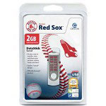 Centon DataStick MLB Swivel Boston Red Sox Edition - USB Flash Drive - 2 GB