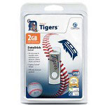 Centon DataStick MLB Swivel Detroit Tigers Edition - USB Flash Drive - 2 GB