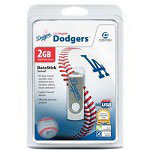Centon DataStick MLB Swivel Los Angeles Dodgers Edition - USB Flash Drive - 2 GB