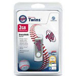 Centon DataStick MLB Swivel Minnesota Twins Edition - USB Flash Drive - 2 GB