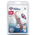Centon DataStick MLB Swivel Philadelphia Phillies Edition - USB Flash Drive - 2 GB