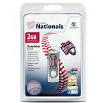 Centon DataStick MLB Swivel Washington Nationals Edition - USB Flash Drive - 2 GB