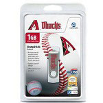 Centon DataStick MLB Swivel Arizona Diamondbacks Edition - USB Flash Drive - 1 GB