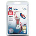 Centon DataStick MLB Swivel Chicago Cubs Edition - USB Flash Drive - 1 GB