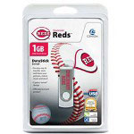 Centon DataStick MLB Swivel Cincinnati Reds Edition - USB Flash Drive - 1 GB
