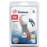 Centon DataStick MLB Swivel New York Yankees Edition - USB Flash Drive - 1 GB