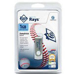 Centon DataStick MLB Swivel Tampa Bay Rays Edition - USB Flash Drive - 1 GB