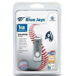 Centon DataStick MLB Swivel Toronto Blue Jays Edition - USB Flash Drive - 1 GB