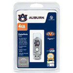 Centon DataStick Twist Collegiate Auburn University Edition Tigers - USB Flash Drive - 4 GB