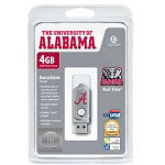 Centon DataStick Twist Collegiate University Of Alabama Edition Crimson Tide - USB Flash Drive - 4 GB