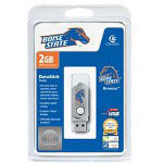 Centon DataStick Twist Collegiate Boise State University Edition Broncos - USB Flash Drive - 2 GB