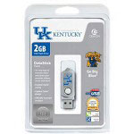 Centon DataStick Twist Collegiate University Of Kentucky Edition Wildcats - USB Flash Drive - 2 GB