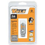 Centon DataStick Twist Collegiate University Of Tennessee - Knoxville Edition Volunteers - USB Flash Drive - 2 GB
