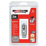 Centon DataStick Twist Collegiate University Of Georgia Edition Bulldogs - USB Flash Drive - 2 GB