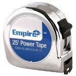 "Empire Level 00626 1"" x 25' Power Measuring Tape"