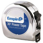 "Empire Level 00636 1"" x 30' Power Tapemeasure"