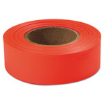 "Empire Level 77002 Glo-orange 1"" x 200'plastic Flagging Tape"