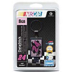 Centon DataStick NASCAR #24 Jeff Gordon Keychain - USB Flash Drive - 8 GB