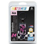 Centon DataStick NASCAR #24 Jeff Gordon Keychain - USB Flash Drive - 4 GB