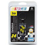 Centon DataStick NASCAR #24 Jeff Gordon Keychain - USB Flash Drive - 2 GB