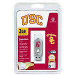 Centon DataStick Twist Collegiate University Of Southern California Edition - USB Flash Drive - 2 GB