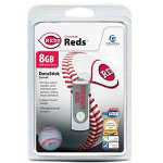 Centon DataStick MLB Swivel Cincinnati Reds Edition - USB Flash Drive - 8 GB