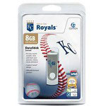 Centon DataStick MLB Swivel Kansas City Royals Edition - USB Flash Drive - 8 GB