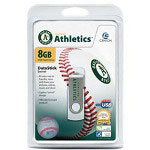 Centon DataStick MLB Swivel Oakland Athletics Edition - USB Flash Drive - 8 GB