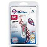 Centon DataStick MLB Swivel Philadelphia Phillies Edition - USB Flash Drive - 8 GB