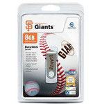 Centon DataStick MLB Swivel San Francisco Giants Edition - USB Flash Drive - 8 GB