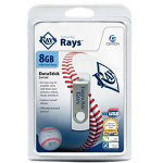 Centon DataStick MLB Swivel Tampa Bay Rays Edition - USB Flash Drive - 8 GB