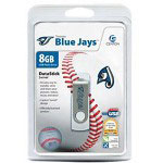 Centon DataStick MLB Swivel Toronto Blue Jays Edition - USB Flash Drive - 8 GB