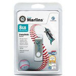 Centon DataStick MLB Swivel Florida Marlins Edition - USB Flash Drive - 8 GB