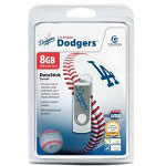 Centon DataStick MLB Swivel Los Angeles Dodgers Edition - USB Flash Drive - 8 GB