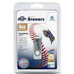 Centon DataStick MLB Swivel Milwaukee Brewers Edition - USB Flash Drive - 8 GB
