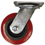 "Ez Roll 6"" Swivel Caster W Brake"