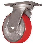 "Ez Roll 8"" Swivel Caster W Brake"
