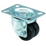 "E.R. Wagner 2x13/16"" Low Profile 97 Plate Swivel Caster"
