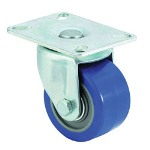 "E.R. Wagner 3x1-3/4"" Low Profile 97 Plate Swivel Caster"