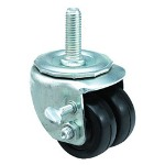 "E.R. Wagner 2x13/16"" Low Profile 10 Post Swivel Caster"