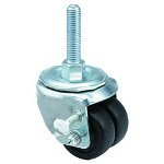 "E.R. Wagner 2x13/16"" Low Profile 18 Post Swivel Caster"