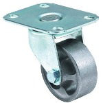 "E.R. Wagner 2-1/2"" x 1 Light-med Duty Am Plate Swivel Caster"